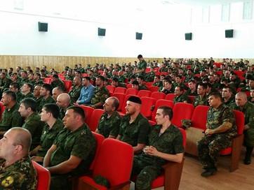 Муфтий С.Межиев встретился с чеченскими силовиками