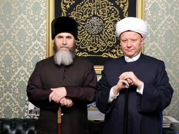 Муфтий ЧР Салах-Хаджи Межиев встретился с главой ДСМР, муфтием Москвы, Центрального региона и Чуваши