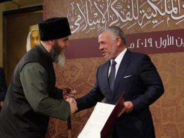 Салаха-Хаджи Межиева по инициативе короля Хашимитского Королевства включили пожизненно в состав Иорд