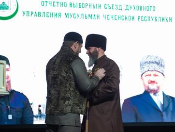 Президент России наградил муфтия Чеченской Республики орденом Дружбы