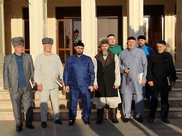 В ЧР прибыла делегация грузинских чеченцев