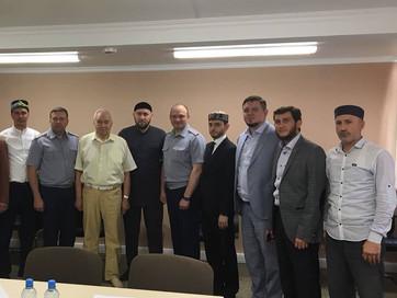Заседание рабочей группы по вопросам взаимодействия ФСИН России с мусульманскими централизованными р