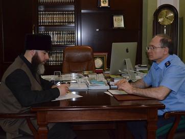 Муфтият и прокуратура ЧР налаживают взаимодействие двух структур