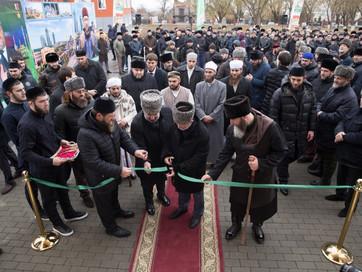 По воле Всевышнего Аллаха прошло торжественное открытие медресе «Даруль-Хадис» в посёлке Катаяма гор