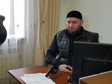 Заместитель Муфтия ЧР Аслан Абдулаев ответил на вопросы корреспондента информационного агентства &qu