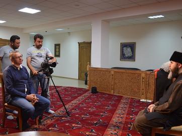 С.Межиев дал интервью турецкому телеканалу