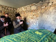 Муфтий посетил древнее селение Хой.