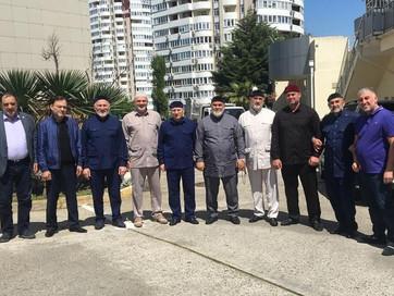 Заместитель Муфтия ЧР Ансар Хетиев   встретился с полномочным представителем ЧР в Краснодарском крае