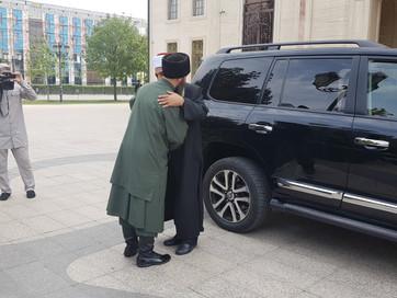 В ДУМ ЧР состоялась встреча Советника Главы ЧР, Муфтия ЧР Салах-Хаджи Межиева с муфтием Иорданского