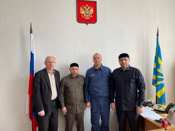 Представители ДУМ ЧР  побывали с рабочей поездкой в воинской части