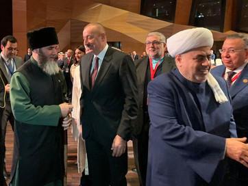 Муфтий принял участие во «II Бакинском Саммите Религиозных Лидеров Мира»