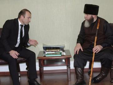 Встреча с ответственным секретарем Исполкома КЦМСК