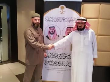 Помощник Муфтия ЧР Расул Сапожник принял участие в официальной встрече с шейхом Али Аз-Зухейби