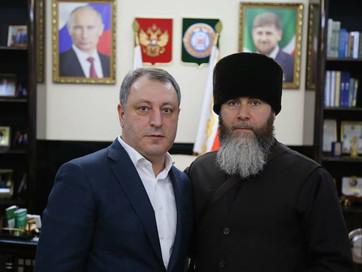 Муфтий ЧР Салах-Хаджи Межиев в ходе рабочей поездки в Москву обсудил рабочие моменты, связанные с пр
