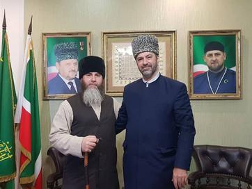 Встреча с представителем управления мусульман Кавказа