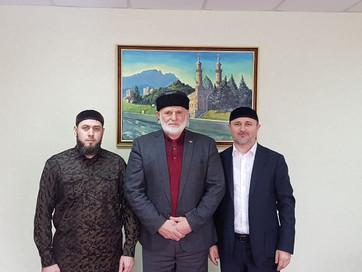 Встреча с муфтием РСО-Алания