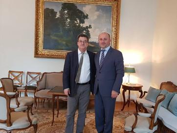 Встреча с послом Швейцарии