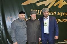 Руководитель Аппарата ДУМ ЧР  на VIII Съезде мусульман Кабардино- Балкарской Республики