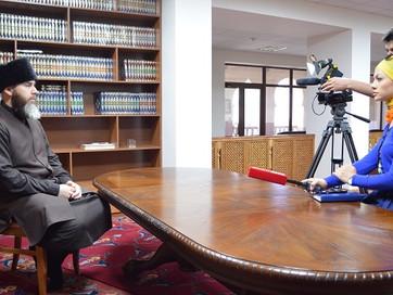 С.Межиев дал ответил на вопросы журналистов LifeNews