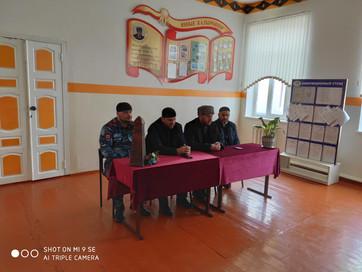 Встреча с учащимися средних общеобразовательных учреждений селения Кулары