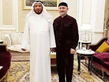 Заместитель Муфтия ЧР по внешним связям Турко Даудов в ходе рабочей поездки в Государство Кувейт про