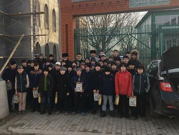 Заместитель Муфтия ЧР Ансар Хетиев принял участие в мероприятии, которое прошло в исламском медресе