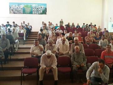 В селе Толстой-Юрт состоялся сход граждан