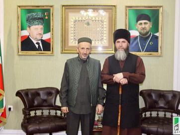 Муфтий Дагестана с дружеским визитом посетил Муфтият Чечни