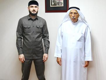 Представитель Муфтията Чечни встретился с основателем Центра культуры и наследия в Дубае
