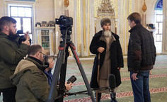 Муфтий Чеченской Республики Салах-Хаджи Межиев дал интервью телеканалу Russia Today
