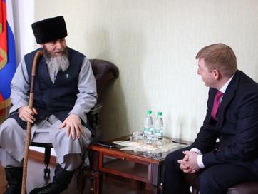 Встреча Муфтия с представителями исламского фонда «АК Барс Капитал»