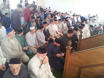 Новая мечеть открылась в Агишбатое