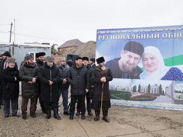 В Шали дали старт строительству шалинской школы хафизов, рассчитанной на 250 мест, которая будет нос