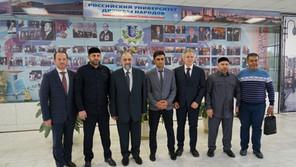 Лекция министра по делам религии и вакуфов Сирии в Москве