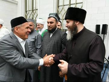 Муфтий посетил Татарстан по приглашению Президента Республики