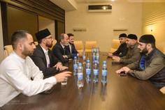 Делегация Муфтията Чечни встретилась с Муфтием Крыма