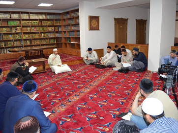Сирийских шейх прочитал лекцию в ДУМ Чечни