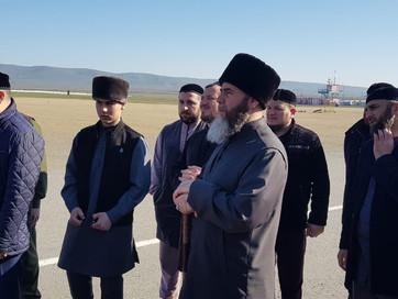 Муфтий ЧР Салах-Хаджи Межиев проводил почетных гостей, делегатов Международной исламской конференции