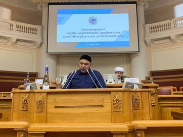 Руководитель Аппарата ДУМ ЧР Супьян Курбанов принял участие в Международной научно-практической конф