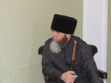 Муфтия ЧР Салах-Хаджи Межиева встретился с Муфтием Северной Осетии-Алании Хаджимурадом Гацаловым