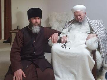 Посещение шейха Накшбандийского тариката Махмуда Эфенди