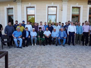 Встреча с чеченцами Евпатории