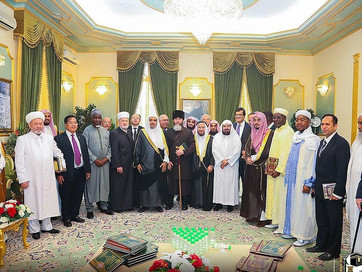 Советник Главы Чеченской Республики, Муфтий ЧР Салах-Хаджи Межиев был приглашен в гости на званый об