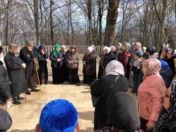 Департамент совместно с ЧРО фонд духовного наследия «Тарикат» организовал поездку по святым местам.