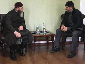 В здании ДУМ ЧР состоялась встреча Муфтия ЧР Салах-Хаджи Межиева с Уполномоченным по правам ребенка