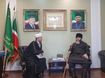 Визит председателя общины мусульман Карелии