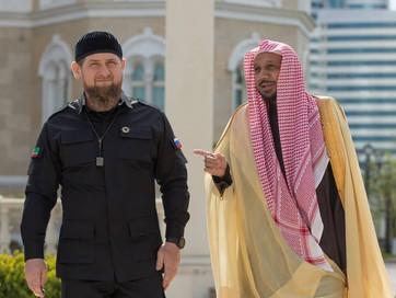 Почетные гости из Саудовской Аравии в Чечне