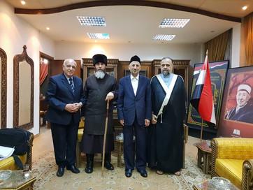 Муфтий ЧР Салах-Хаджи Межиев встретился с министром вакуфов и исламских дел САР Мухаммадом Абд Ас-Са