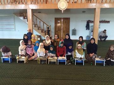 Среди учениц медресе прошел конкурс по чтению Корана