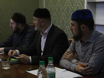 Рабочее совещание с руководителями отделов муфтията